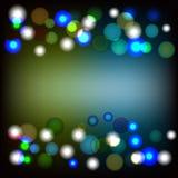 Абстрактное светлое разнообразие красит предпосылку bokeh Стоковые Фотографии RF