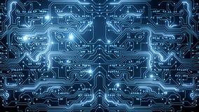 Абстрактное секретное backround голубой цепи Стоковые Изображения