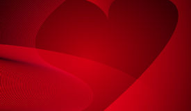 абстрактное сердце предпосылки Стоковое Фото