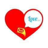 абстрактное сердце вектор влюбленности jpg изображения объявления Стоковое Фото