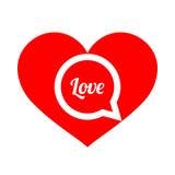 абстрактное сердце вектор влюбленности jpg изображения объявления Стоковая Фотография RF