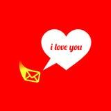абстрактное сердце вектор влюбленности jpg изображения объявления Стоковые Фотографии RF