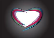 абстрактное сердце предпосылки Стоковое фото RF