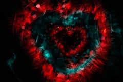 Абстрактное сердце иллюстрация вектора