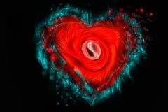 Абстрактное сердце Стоковые Изображения