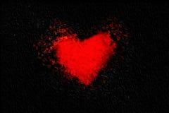 Абстрактное сердце Стоковые Изображения RF
