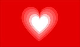 абстрактное сердце Стоковое Изображение RF