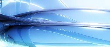 Абстрактное синее стекло Стоковые Фото