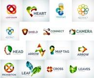 Абстрактное собрание логотипа компании Стоковые Фотографии RF