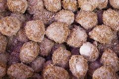 Абстрактное собрание предпосылки:  Местные китайские яичка рисовых отрубей Стоковое фото RF
