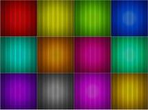 абстрактное собрание предпосылок цветастое Стоковые Фото