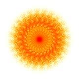 абстрактное солнце иллюстрации Стоковая Фотография