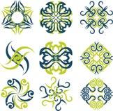 абстрактное солнце логоса Стоковые Фотографии RF