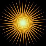 абстрактное солнце Стоковое Изображение