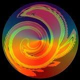 абстрактное солнце Стоковое фото RF