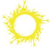 абстрактное солнце Стоковые Фотографии RF