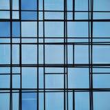 абстрактное стекло фасада выравнивает отражение Стоковые Изображения RF