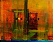 абстрактное стекло Стоковое Фото