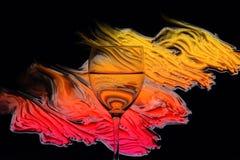 абстрактное стекло предпосылки Стоковые Фотографии RF