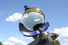 абстрактное стекло шарика предпосылки 3d Стоковые Фотографии RF
