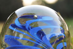 абстрактное стекло шарика предпосылки 3d Стоковая Фотография