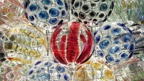 абстрактное стекло шарика предпосылки 3d Стоковые Изображения RF