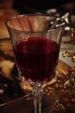 абстрактное стеклянное вино изображения Стоковое Фото