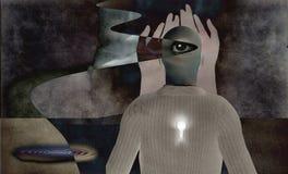 абстрактное сюрреалистическое Стоковые Изображения
