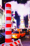 Абстрактное Таймс площадь Стоковое Изображение RF