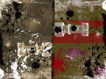 абстрактное текстурированное grungy предпосылки иллюстрация штока