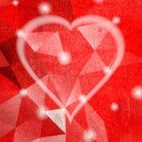 Абстрактное темное сердце grunge сбор винограда бумаги орнамента предпосылки геометрический старый Стоковые Изображения RF