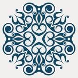абстрактное украшение флористическое Стоковые Изображения