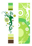 абстрактное украшение флористическое иллюстрация штока