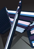 абстрактное усилие конструкции предпосылки Стоковое Изображение RF
