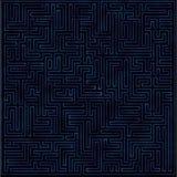 Абстрактное фиолетовое сияющее labirinth Стоковое фото RF
