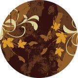 абстрактное флористическое Стоковое Изображение