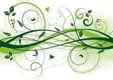абстрактное флористическое Стоковое Изображение RF