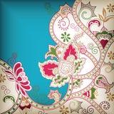абстрактное флористическое Стоковые Фотографии RF