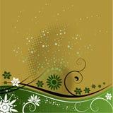 абстрактное флористическое Стоковые Изображения