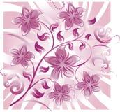 абстрактное флористическое Стоковые Изображения RF