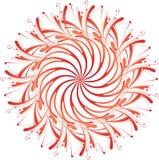 абстрактное флористическое иллюстрация вектора