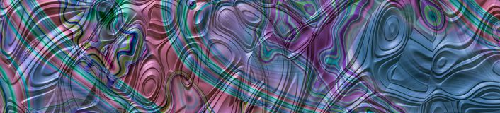 Абстрактное хаотическое знамя панорамы взгляда металла Стоковое фото RF