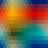 Абстрактная геометрическая картина Стоковые Изображения RF