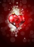 абстрактное цветастое сердце Стоковое Фото