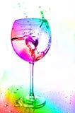 абстрактное цветастое стекло Стоковое Изображение RF