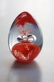 Абстрактное цветастое яичко Стоковые Фотографии RF