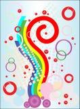 абстрактное яркое изображение иллюстрация штока