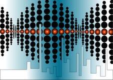 абстрактное диско Стоковые Изображения RF