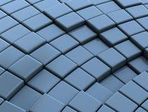Абстрактное 3d cubes предпосылка Стоковое Фото