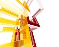 абстрактное archi structure002 Стоковое Изображение